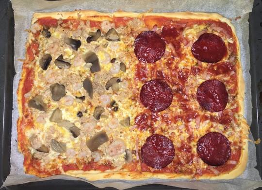Masa de pizza fina - Pizza mycook ...