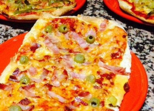Pizza a tu gusto - Pizza mycook ...