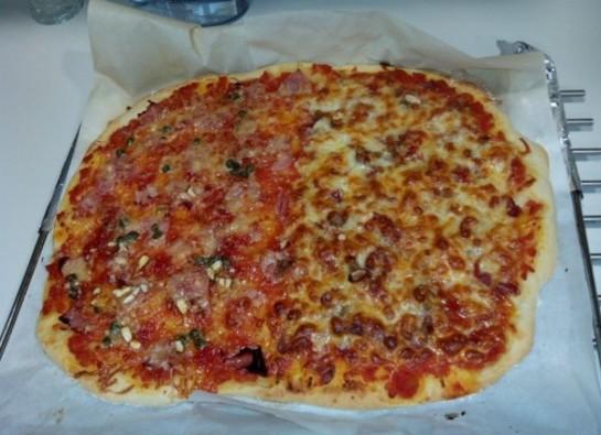 Masa de pan pizza - Pizza mycook ...