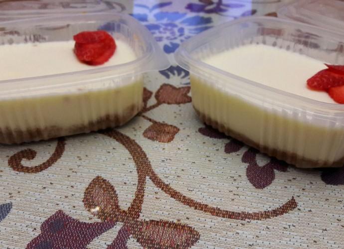 Tarta de queso individual